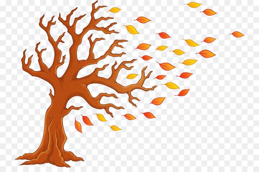 Herbst Baum Cartoon Clip art.