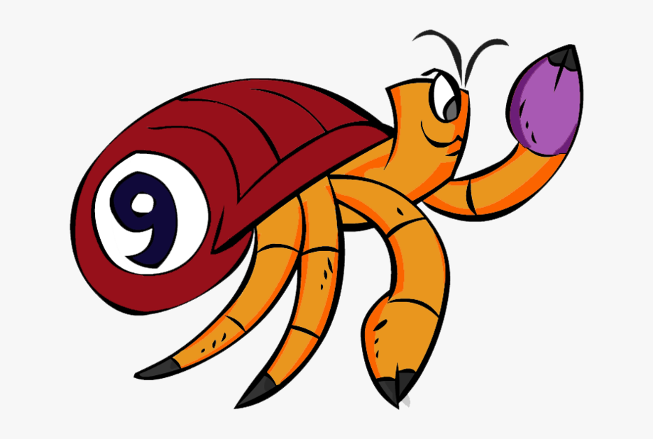 Hermit Crab Clipart Red Crab , Transparent Cartoon, Free.