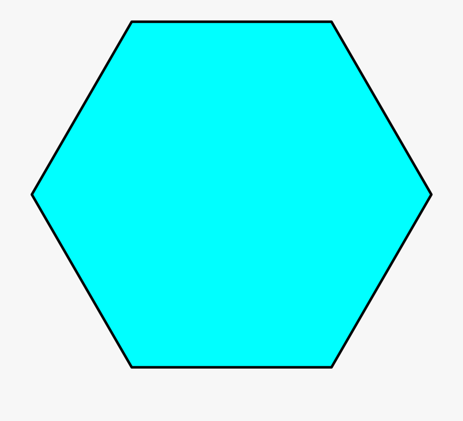 Polygon Clipart Hexagon.