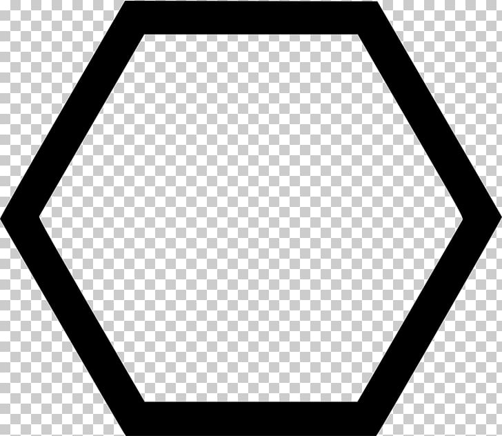 Hexagon Shape Circle , shape PNG clipart.