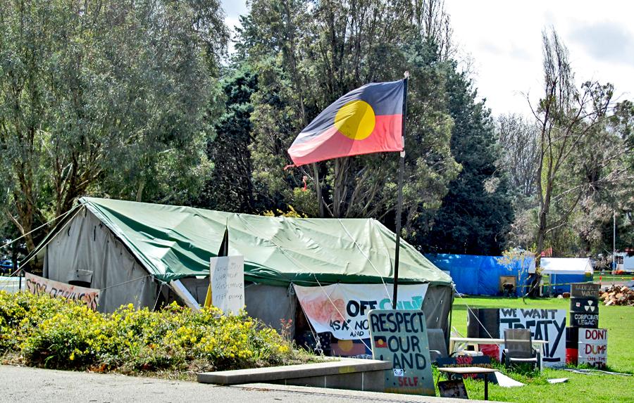 Aboriginal Tent Embassy, Australia 2019.