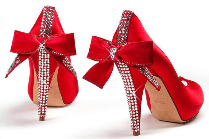 Red High Heels Clipart.