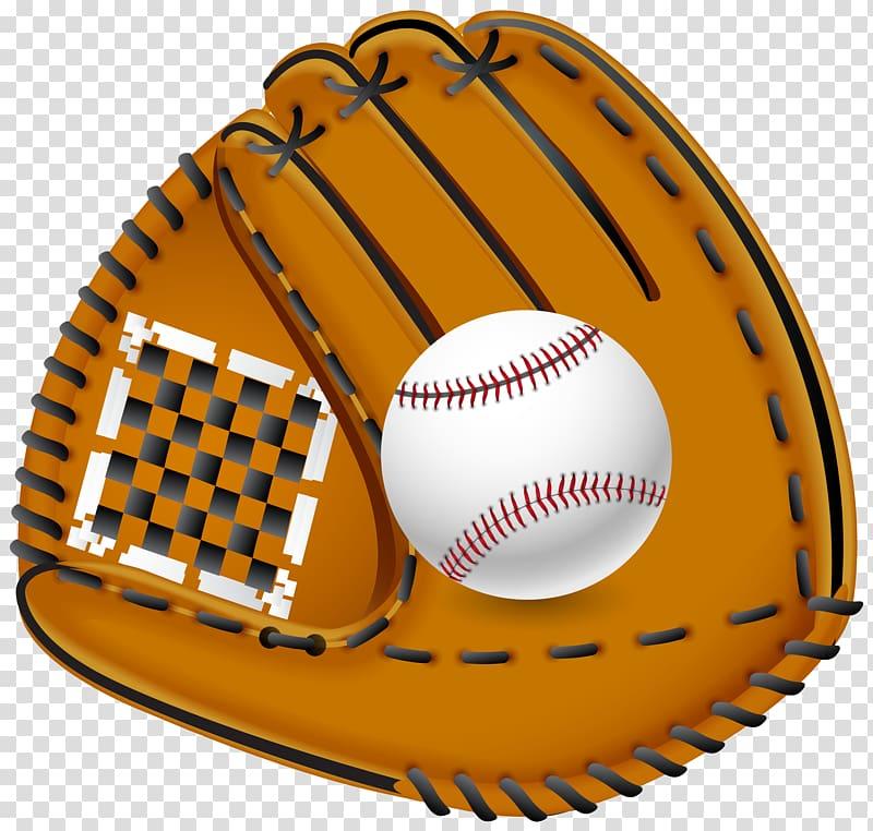 Baseball and baseball mitt illustration, Port Neches.