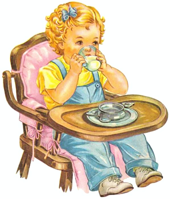 Free Highchair Clipart, 1 page of Public Domain Clip Art.