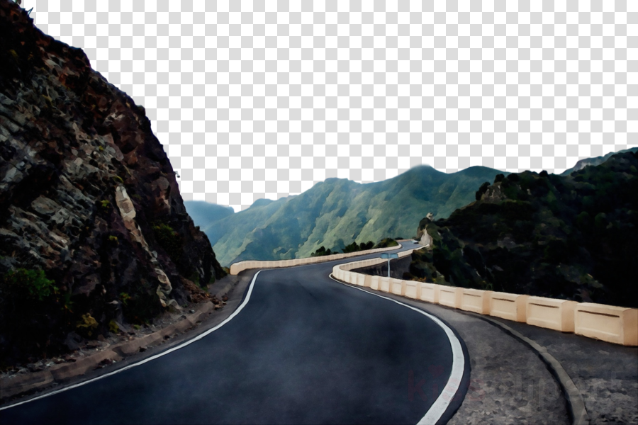 road mountainous landforms asphalt mountain pass highway.