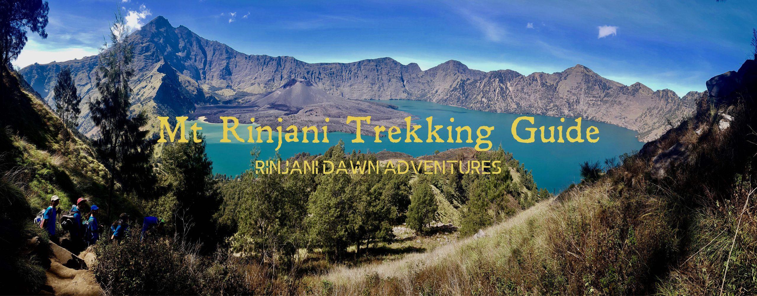 Mount Rinjani Trekking Guide 2020.