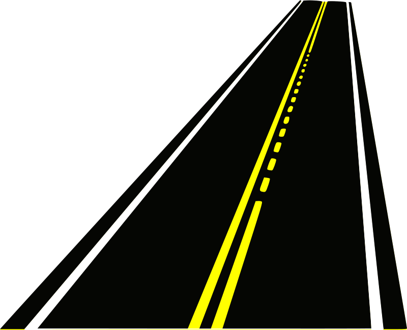 Horizontal Highway Clipart.