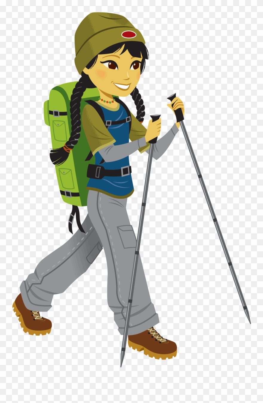 Clipart Library Stock Climbing Clip Hiking.