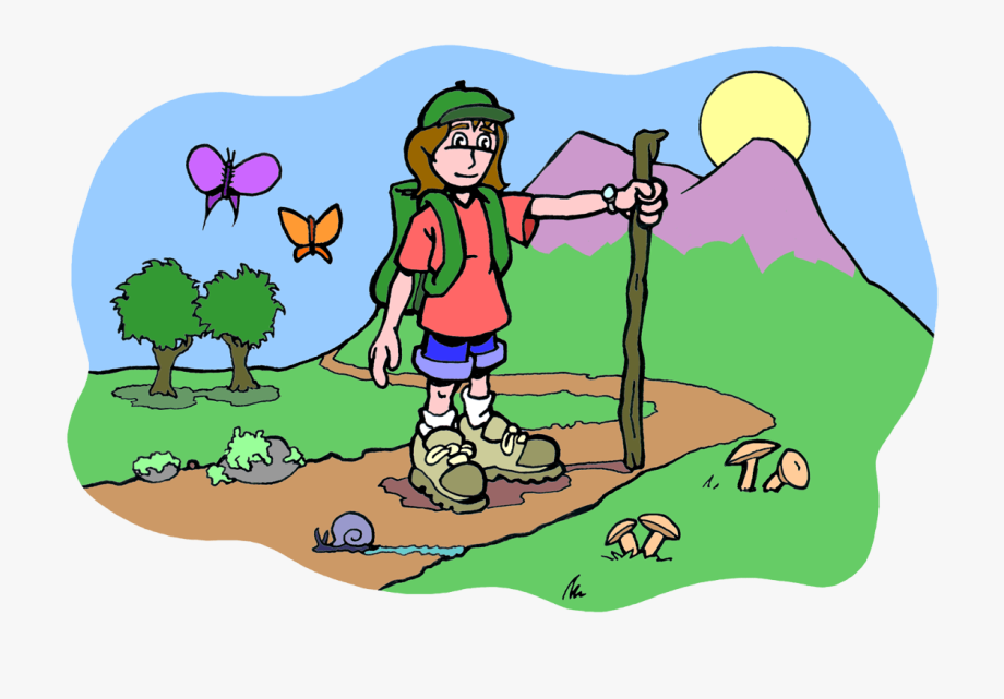 Hiking Clipart Small Mountain.