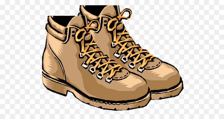 Hiking Boot Brown png download.