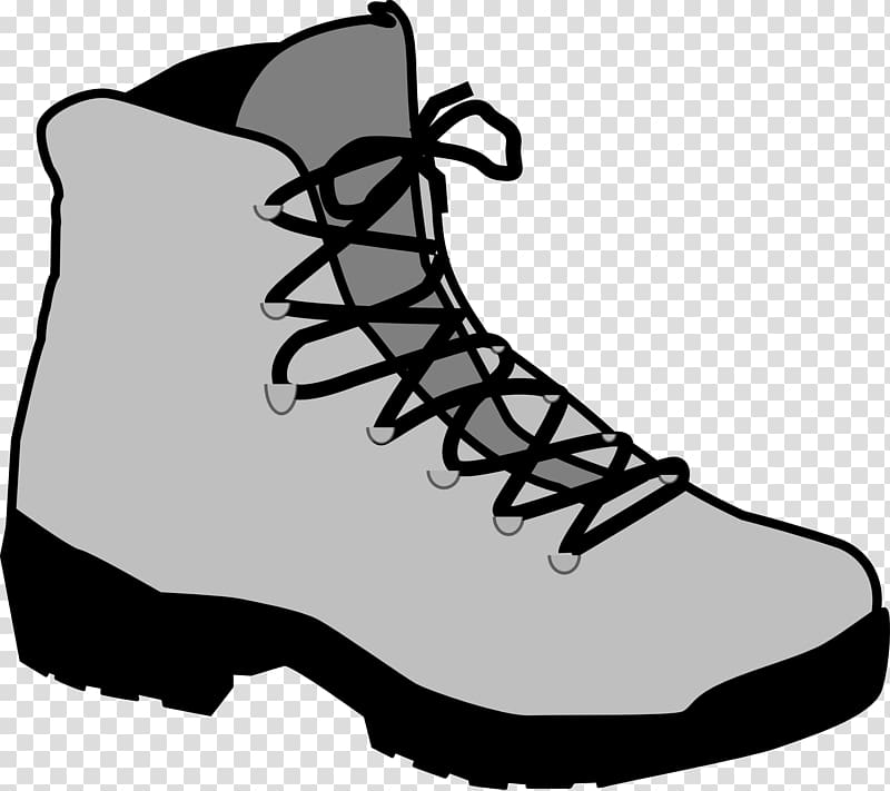 Hiking boot , cartoon shoes transparent background PNG.
