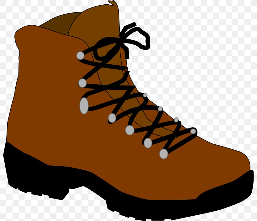 Hiking Boot Camping Clip Art, PNG, 800x707px, Hiking Boot.