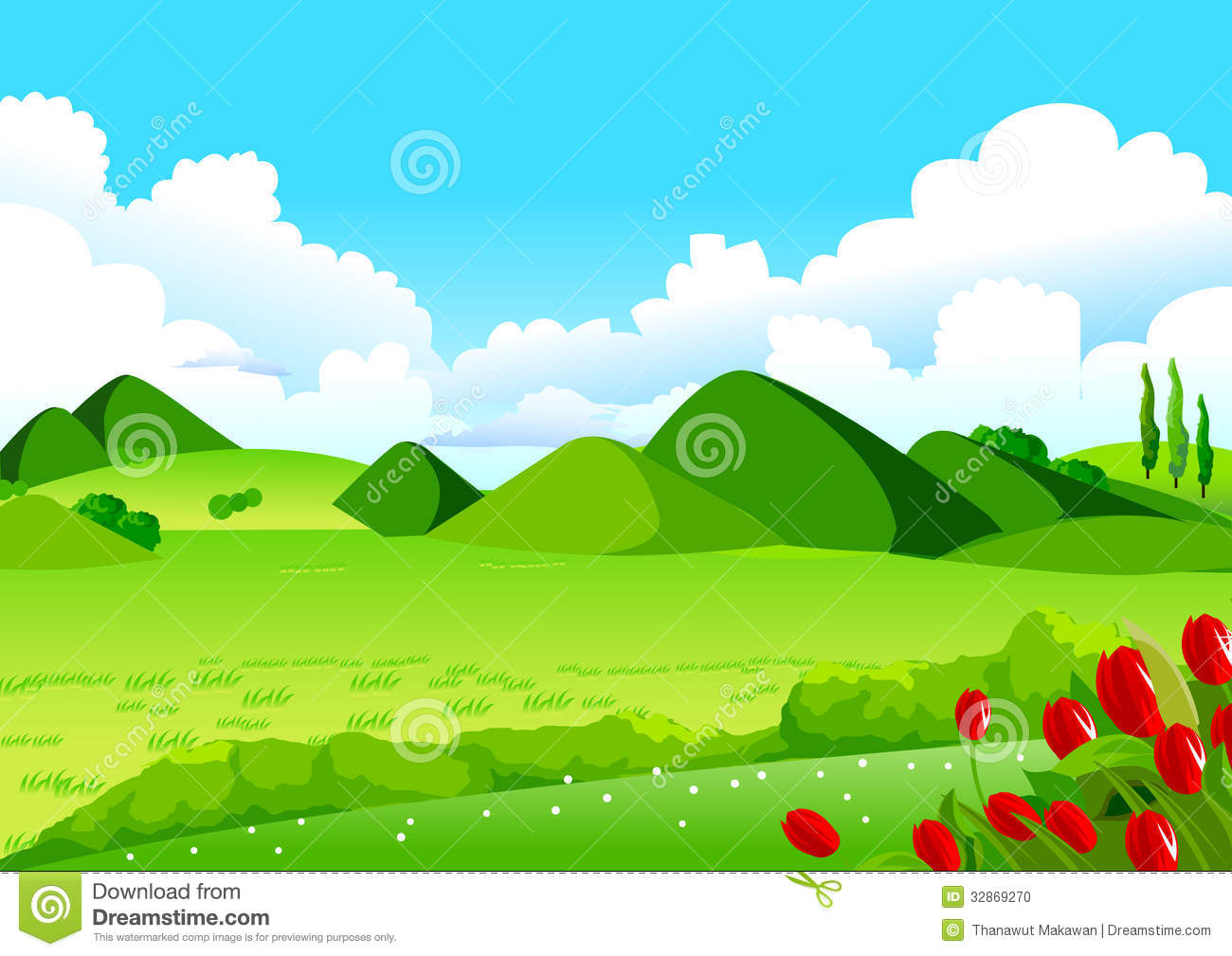 Hills clipart 4 » Clipart Station.
