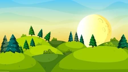 Hills clipart hillside, Hills hillside Transparent FREE for.