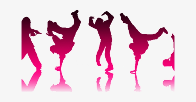 Ballerine Clipart Hip Hop Dance Party.