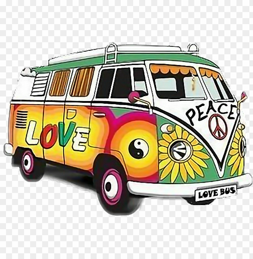 hippie bus png.