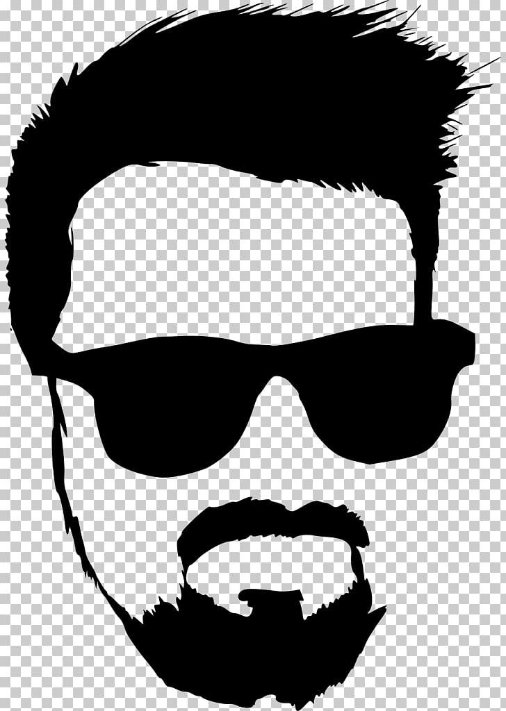 Hipster , Hipster beard PNG clipart.