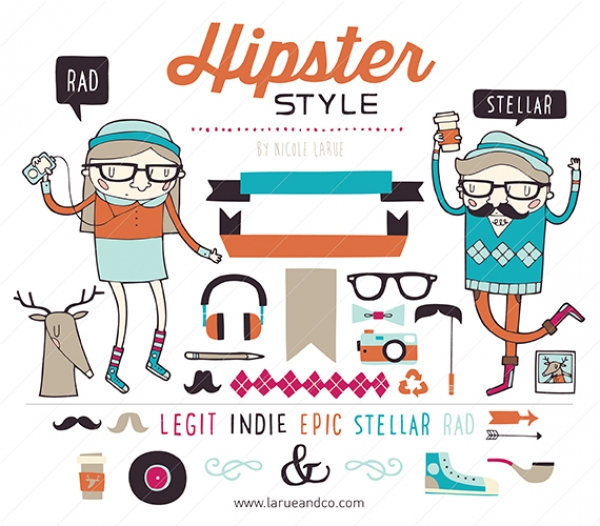 Hipster Style.