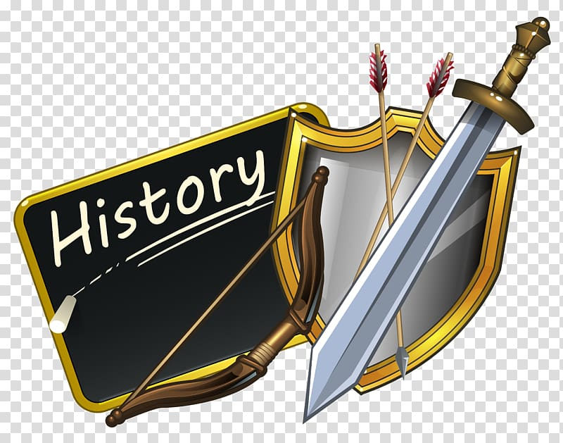 Sword and shield , History , History School transparent.