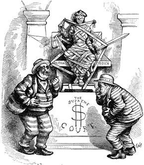 thomas nast political cartoons.