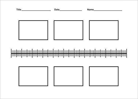 timelines for kids template.