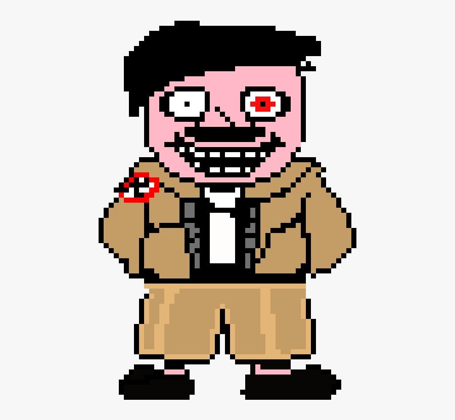 Hitler Pixel Art Maker Clipart , Png Download.