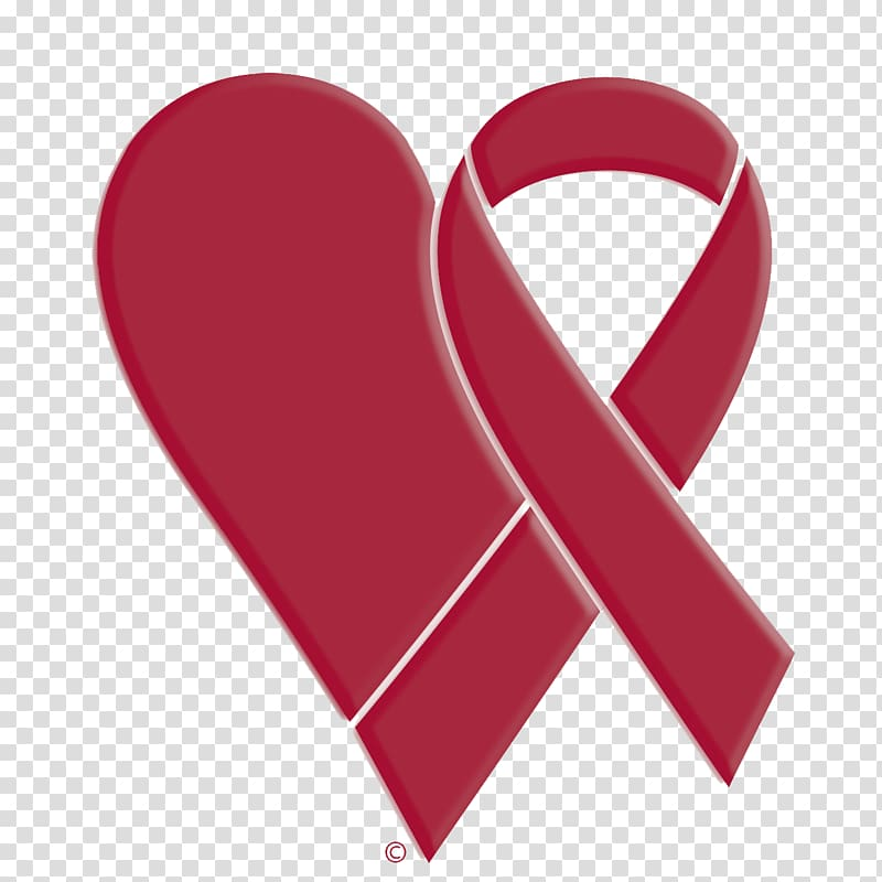 World AIDS Day Red ribbon HIV Virus, campaign transparent.