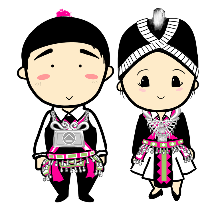 Hmong cliparts Transparent pictures on F.