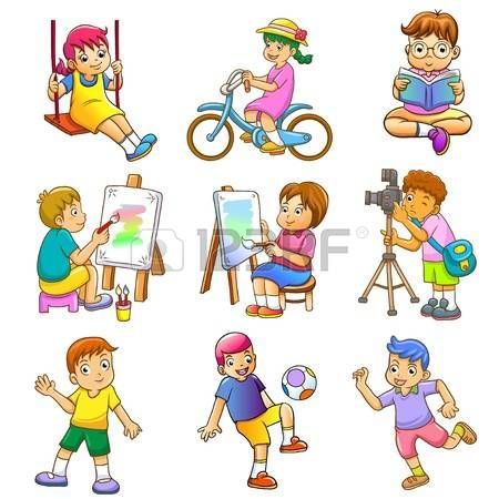 Image result for hobbies clipart.