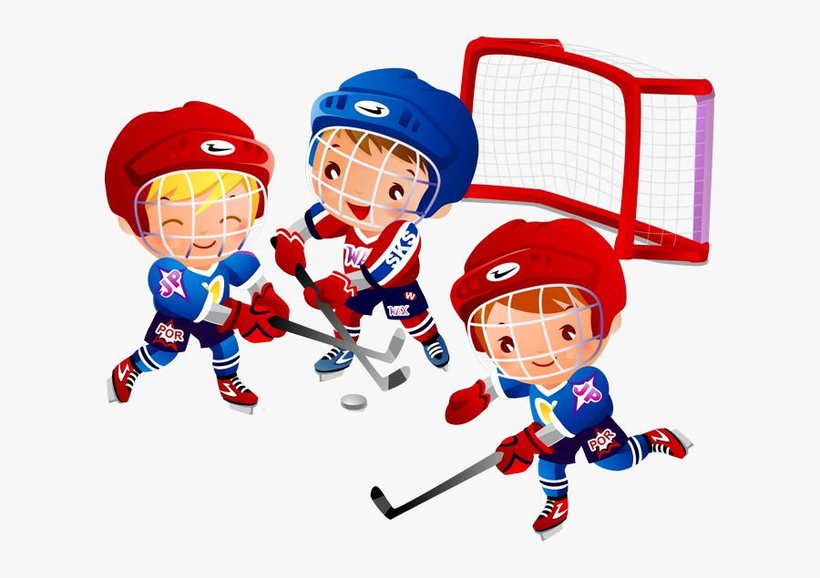 Kid Clipart Hockey.