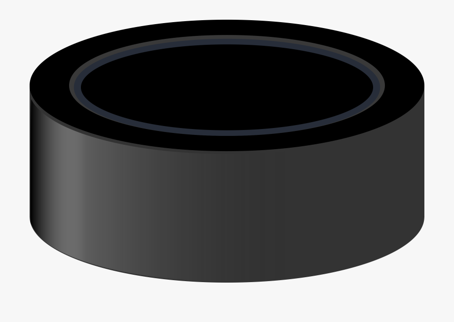 Hockey Puck Clipart.