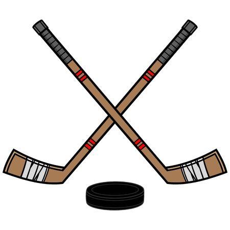 Hockey sticks clipart 1 » Clipart Station.