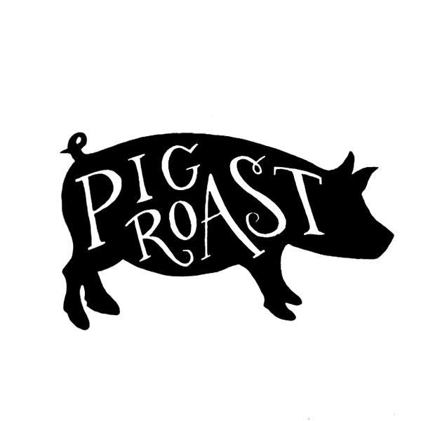 Pig roast clipart 2 » Clipart Station.