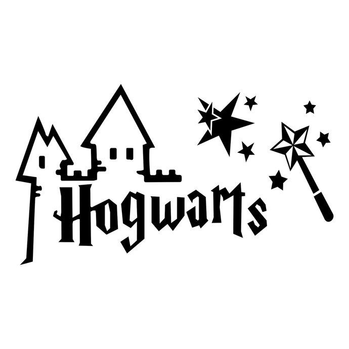 1094 Hogwarts free clipart.