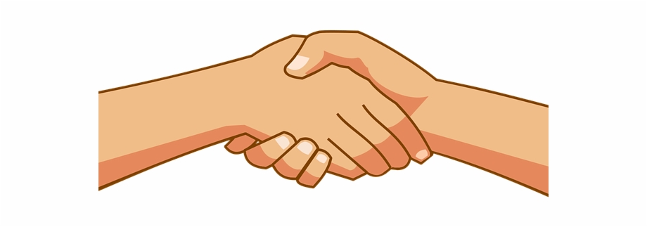 Free Handshake Clipart Holding Hands Clipart Png.