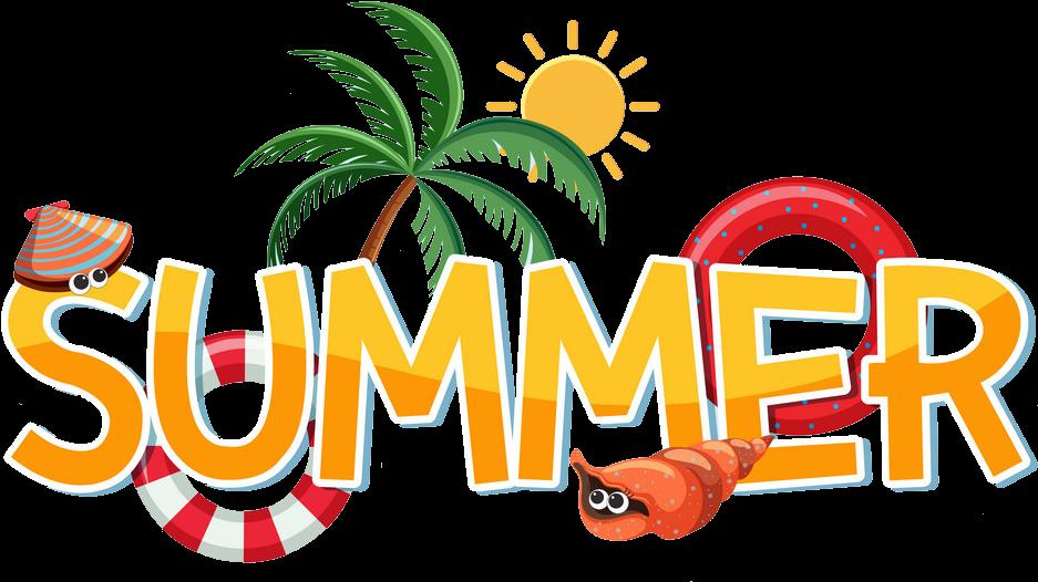 Summer 2019 Holidays Clipart.