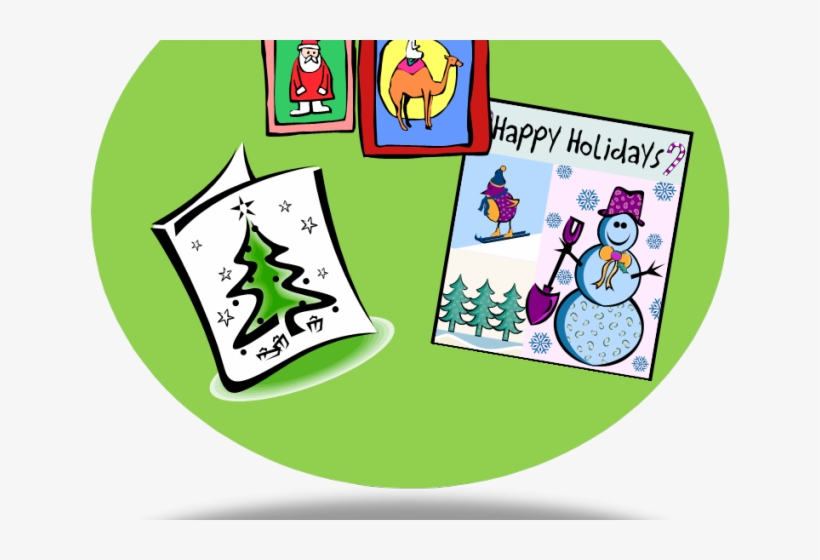 Cards Clipart Holiday Card.