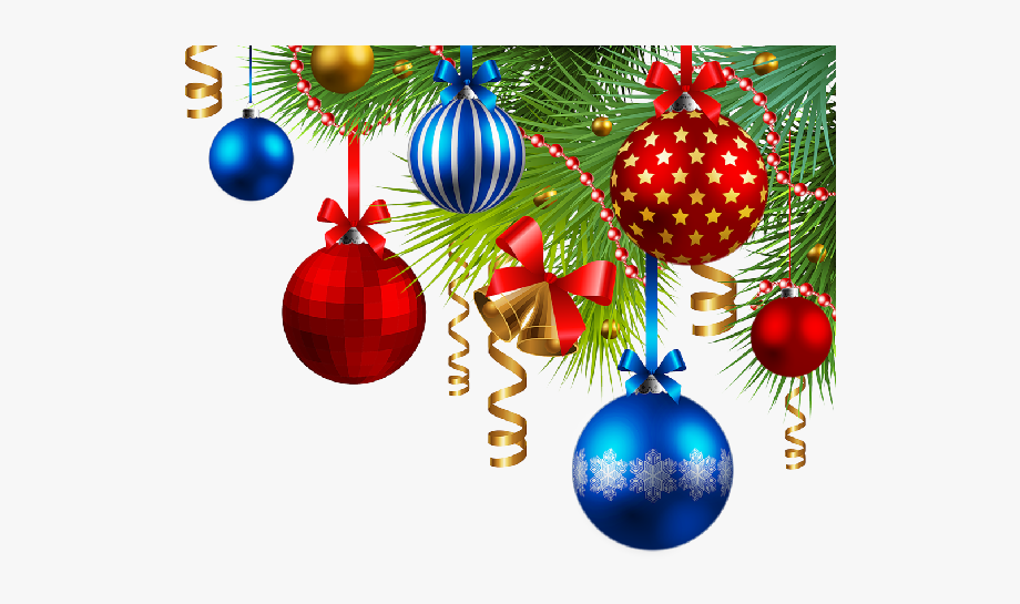 Christmas Ornaments Clipart Xmas Decoration.