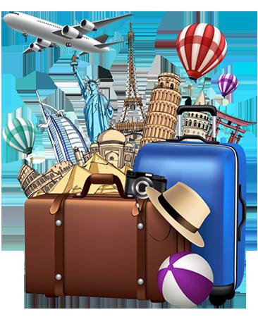 Travel Tour clipart.