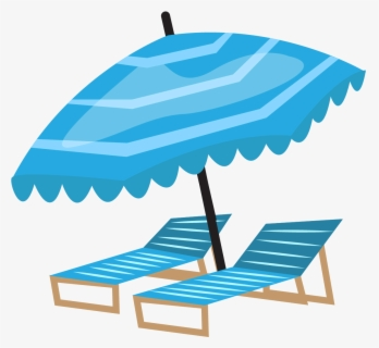 Free Beach Holiday Clip Art with No Background.