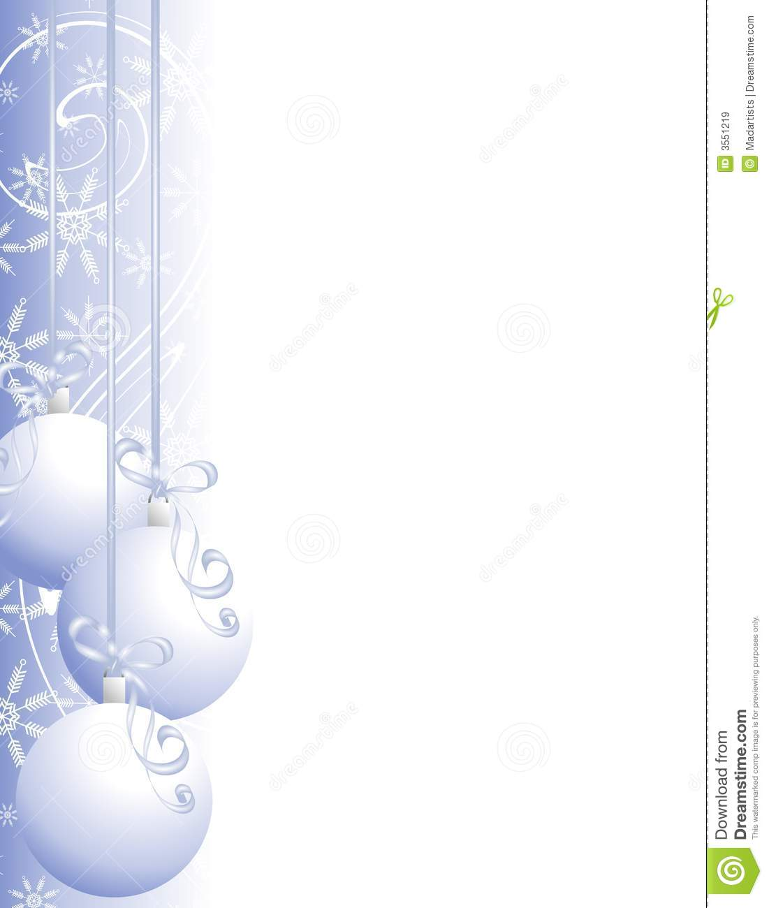 Clipart Holiday Page Borders.