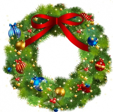 Christmas wreath clip art free vector download (221,624 Free.