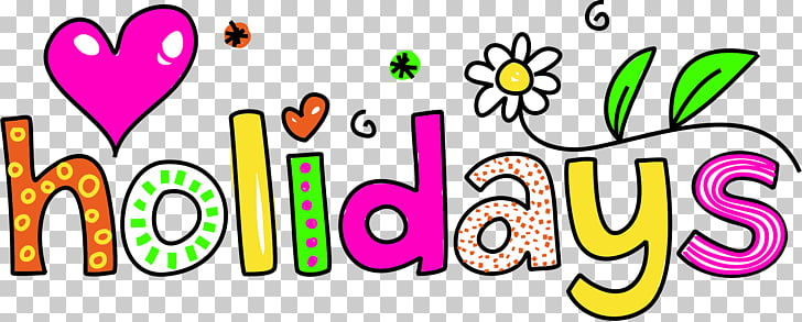 School holiday Christmas , happy spring PNG clipart.