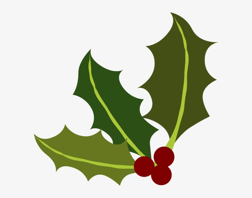 Holly Leaf Png.