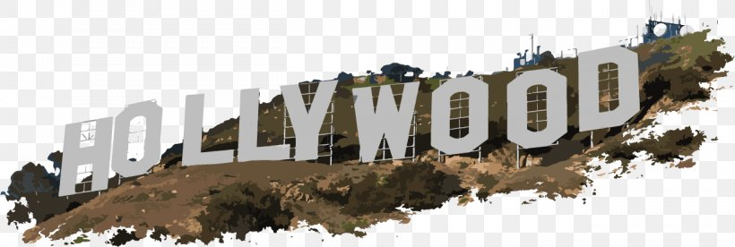 Hollywood Sign Clip Art, PNG, 1312x443px, Hollywood Sign.