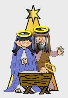 Faith Filled Freebies: Free Holy Family clip art.