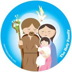 Clipart Holy Family.