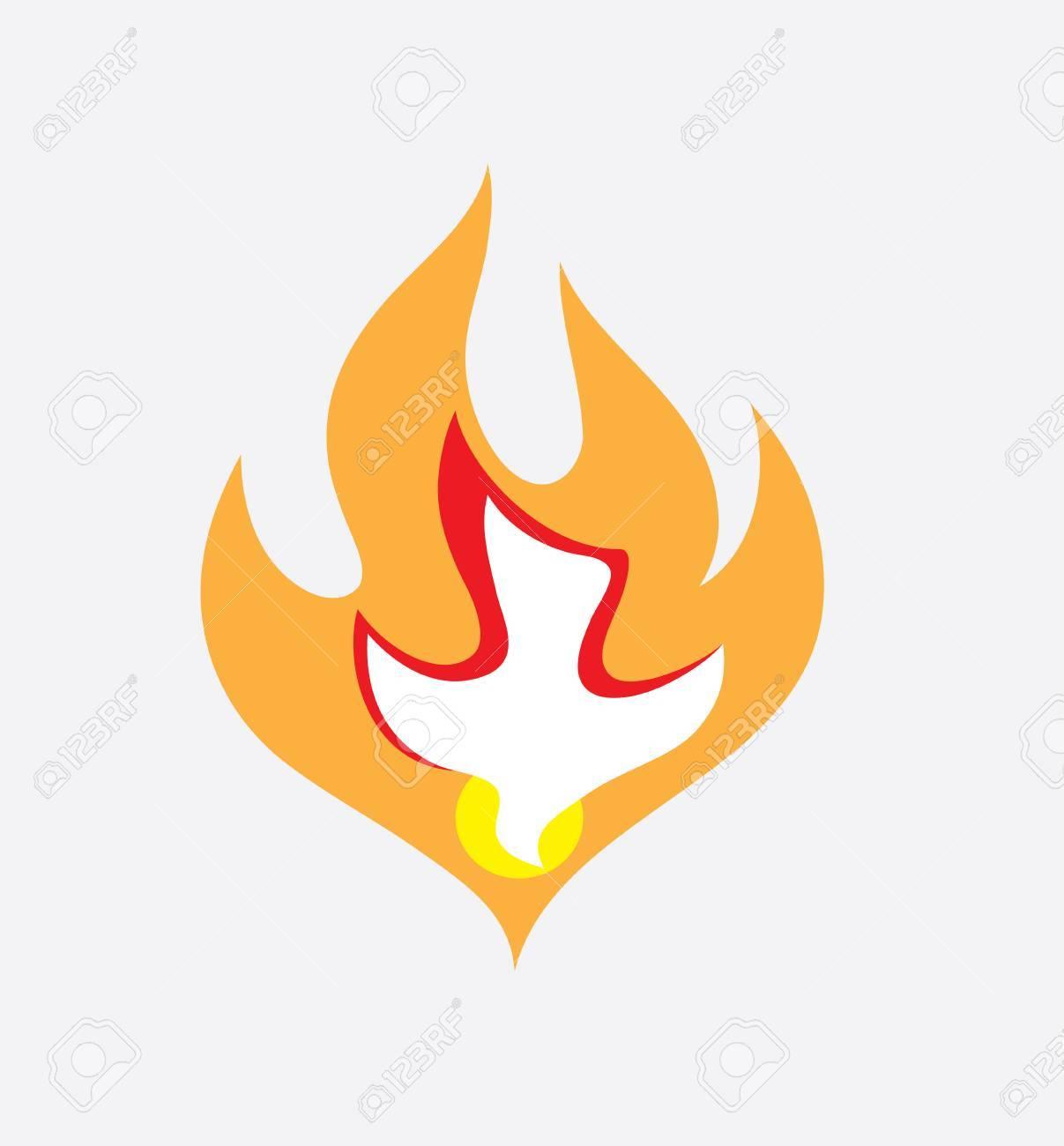 Holy Spirit Fire Clipart.