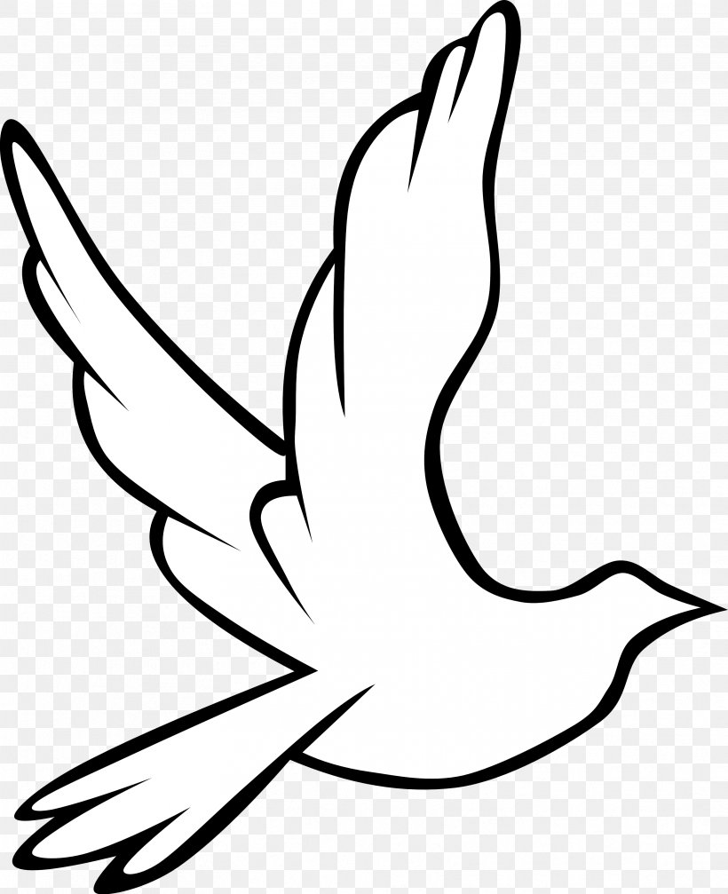 Holy Spirit In Christianity Doves As Symbols Drawing Clip.