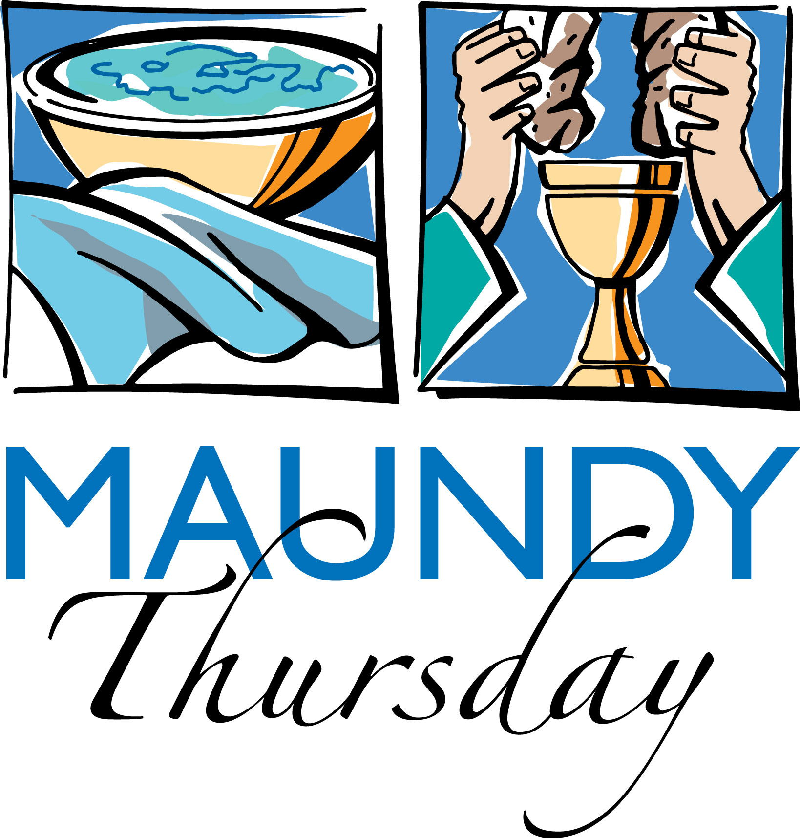 Maundy Thursday Clipart Free.